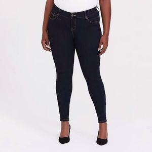 Torrid Bombshell Skinny Jean Premium Extra Dark W